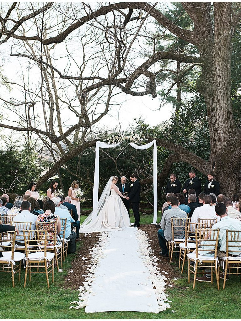 Spring Mountain Magnolia Inn Wedding